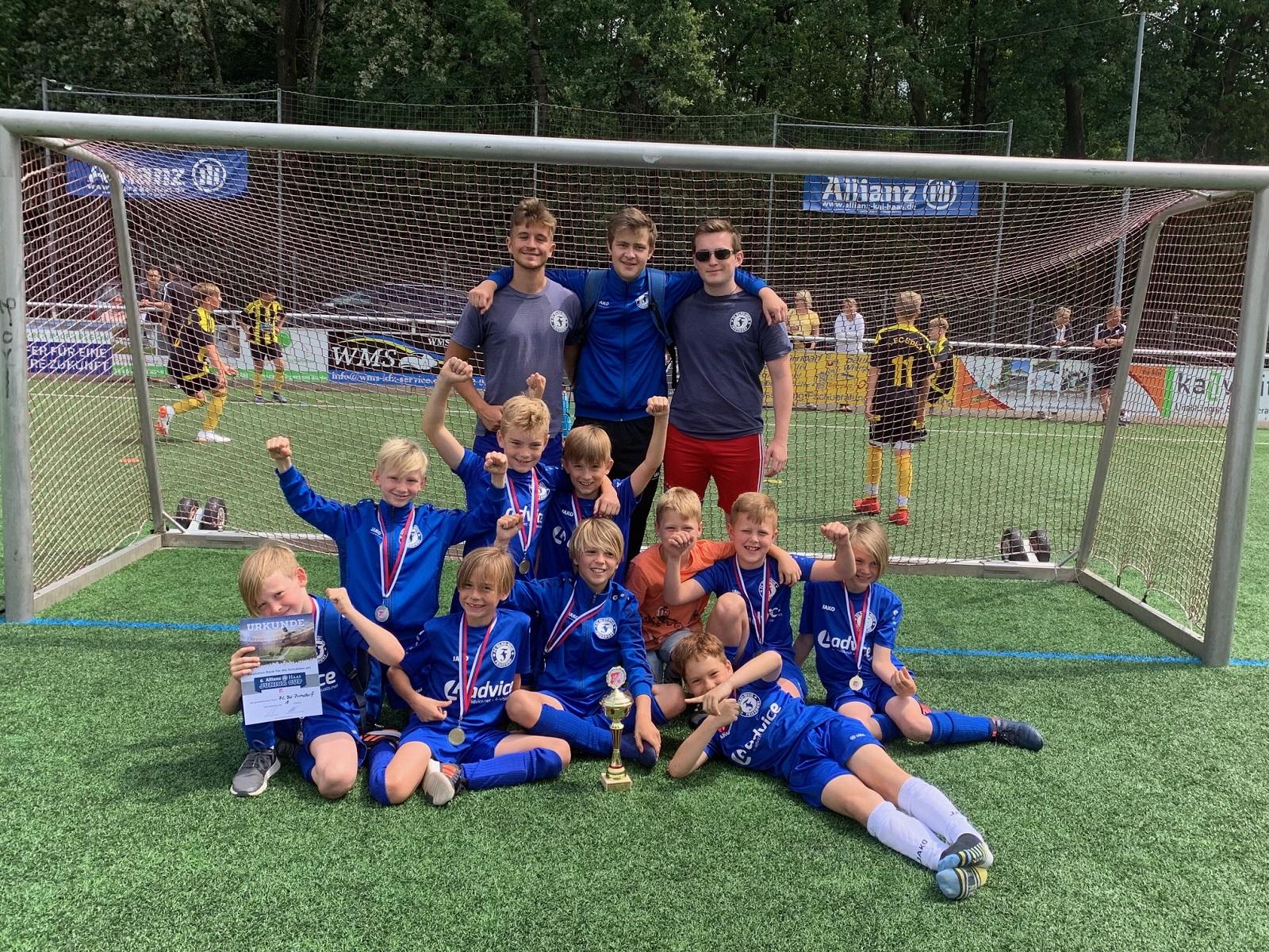 Turniersieg der U09 in Marienfeld