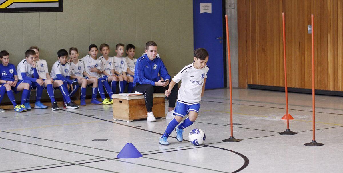 Probetraining bei den Junioren des FC BW Friesdorf