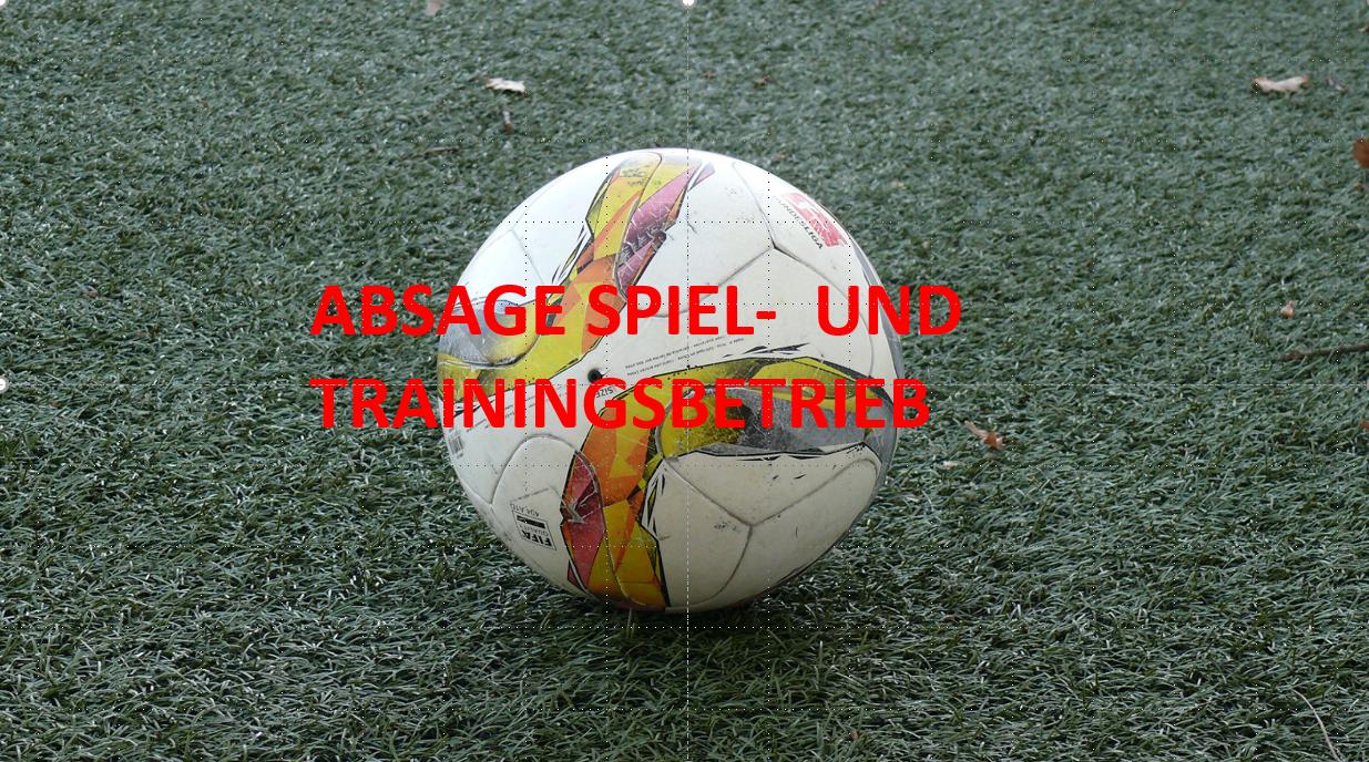 Spiel- und Trainingsbetrieb bis 19. April ausgesetzt