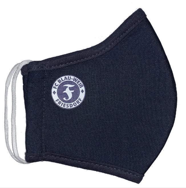 Holt Euch die FC Blau-Weiß Friesdorf Schutzmaske!