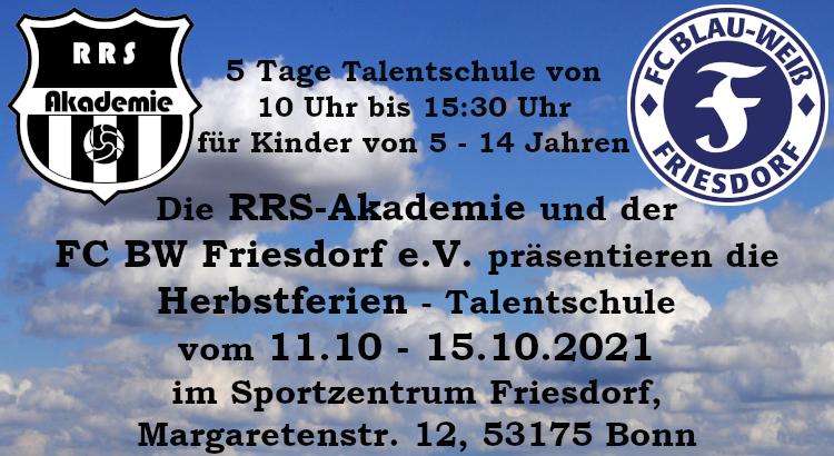 Herbstcamp vom 11.10. – 15.10.2021