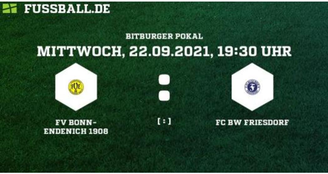 Friesdorf steht im Halbfinale des Kreispokals